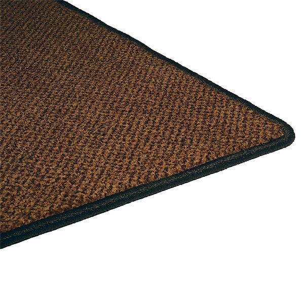 Грязезащитный ворсовый коврик Бриз 1000x1500 коричневый