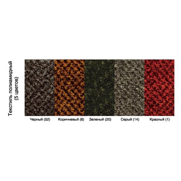 Грязезащитный ворсовый коврик Бриз 1000x1500 зеленый
