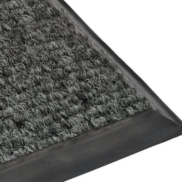 Грязезащитный ворсовый коврик Цикада 13 мм серый