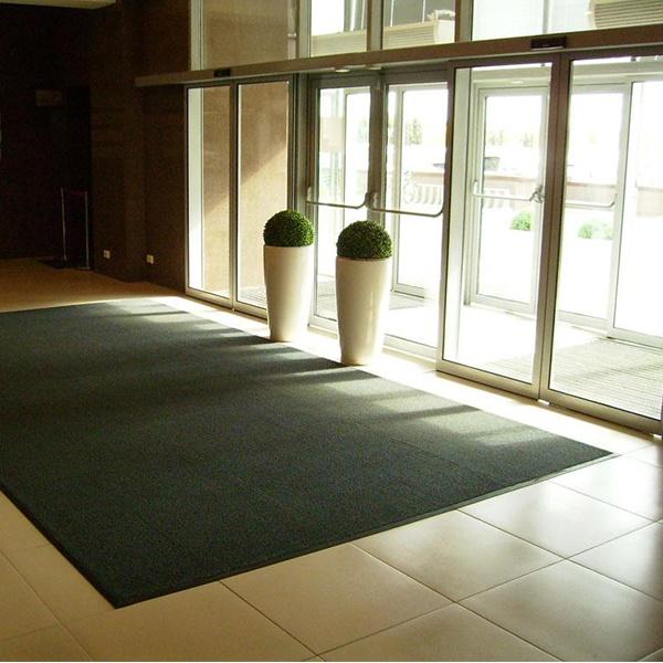 Грязезащитный ворсовый коврик Райс зеленый