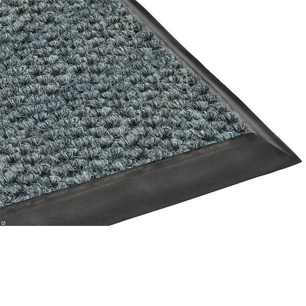 Грязезащитный ворсовый коврик Райс серый
