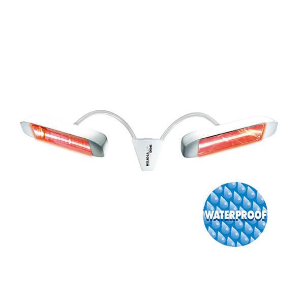 Инфракрасный обогреватель Heliosa Design 996 IPX5, белый