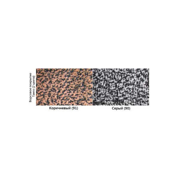 Грязезащитный ворсовый коврик Tango 900x1500 мм коричневый