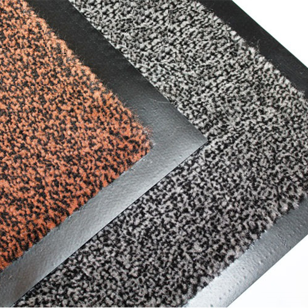 Грязезащитный ворсовый коврик Tango 800х1200 мм коричневый