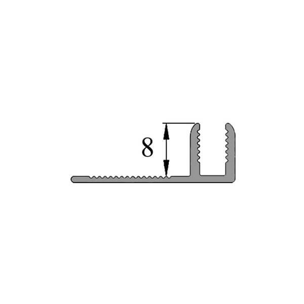 База Т-08 (Основа) для профилей Т-образной формы