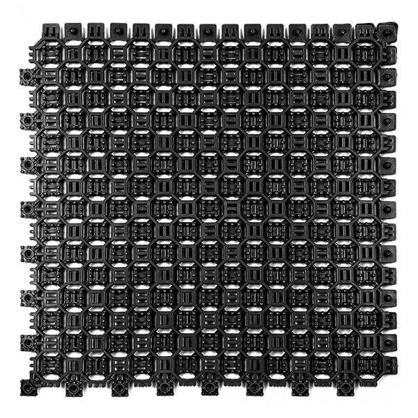 Модульное дренажное ПВХ-покрытие Optima Duos 250x250x9