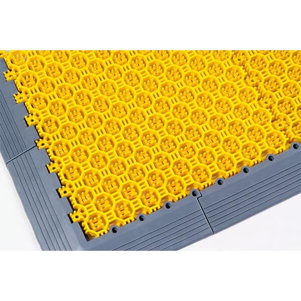 Модульное дренажное ПВХ-покрытие Optima Duos 250x250x16