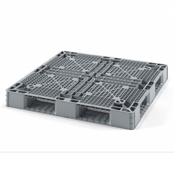 Поддон перфорированный 1105х1105х120 мм на 6 полозьях