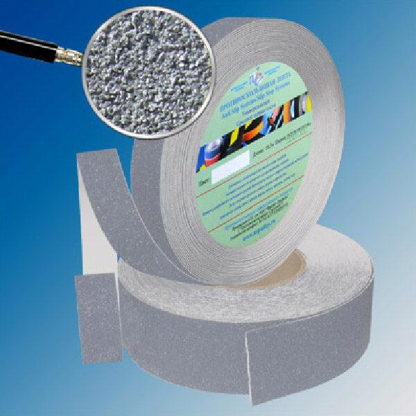 Противоскользящая абразивная лента AntiSlip Systems 60 grit, 50 мм, 18.3 м серый