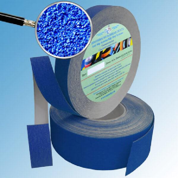 Противоскользящая абразивная лента AntiSlip Systems 60 grit, 50 мм, 18.3 м синий