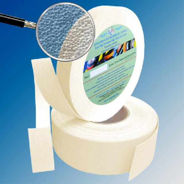 Противоскользящая абразивная лента AntiSlip Systems 60 grit, 25 мм, 18.3 м прозрачный