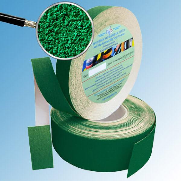 Противоскользящая абразивная лента AntiSlip Systems 60 grit, 25 мм, 18.3 м зеленый