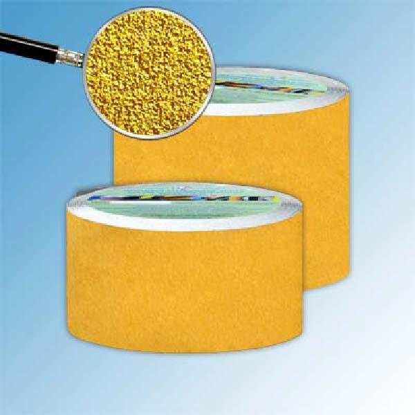 Противоскользящая абразивная лента SlipStop 60-80 grit 150 мм 18,3 м желтый