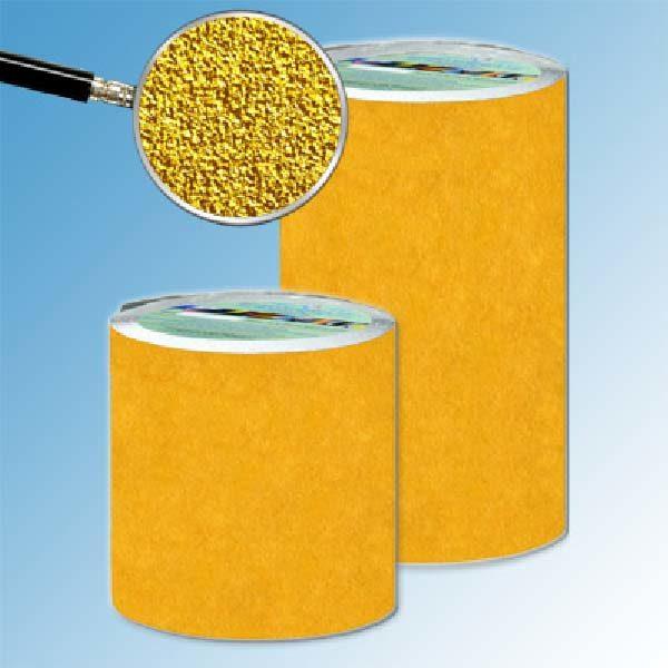 Противоскользящая абразивная лента SlipStop 60-80 grit 200 мм 18,3 м желтый