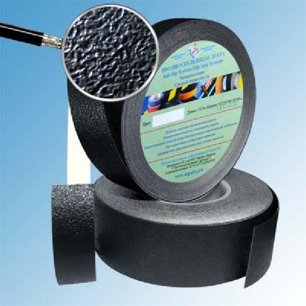 Противоскользящая водоотталкивающая виниловая лента Antislip Systems 25 мм, 18,3 м черный