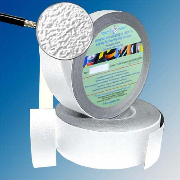 Противоскользящая водоотталкивающая виниловая лента Antislip Systems 25 мм, 18,3 м белый