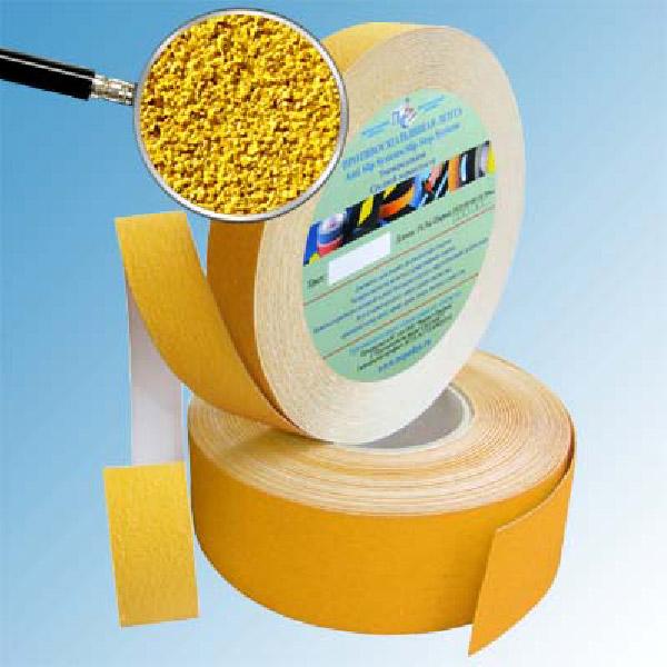 Противоскользящая абразивная формуемая лента Antislip Systems 25 мм желтый