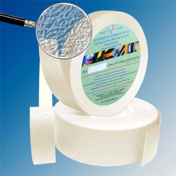 Противоскользящая водоотталкивающая виниловая лента Antislip Systems 50 мм, 18,3 м прозрачный