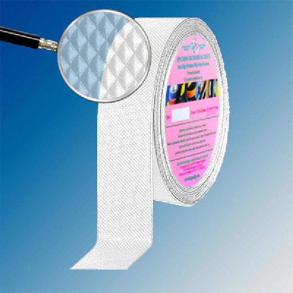 Противоскользящая тактильная ромбовидная лента Antislip Systems 25 мм, 10 м прозрачный