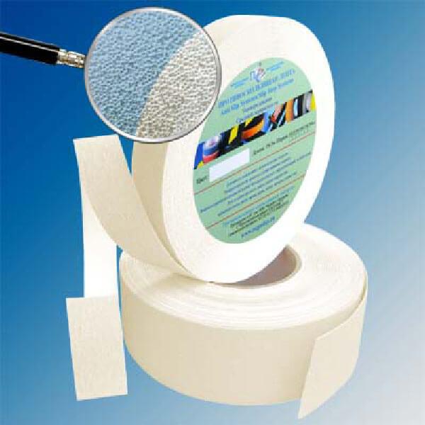 Противоскользящая абразивная лента SlipStop 60-80 grit 25 мм, 18,3 м прозрачный