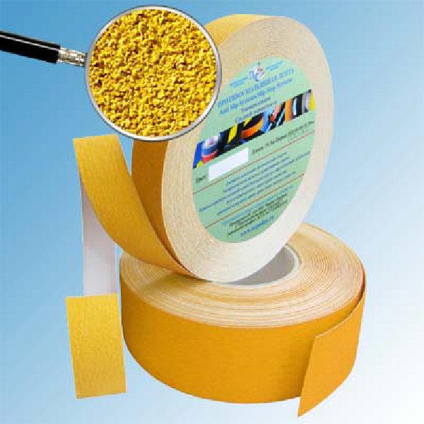 Противоскользящая абразивная формуемая лента Antislip Systems 50 мм желтый