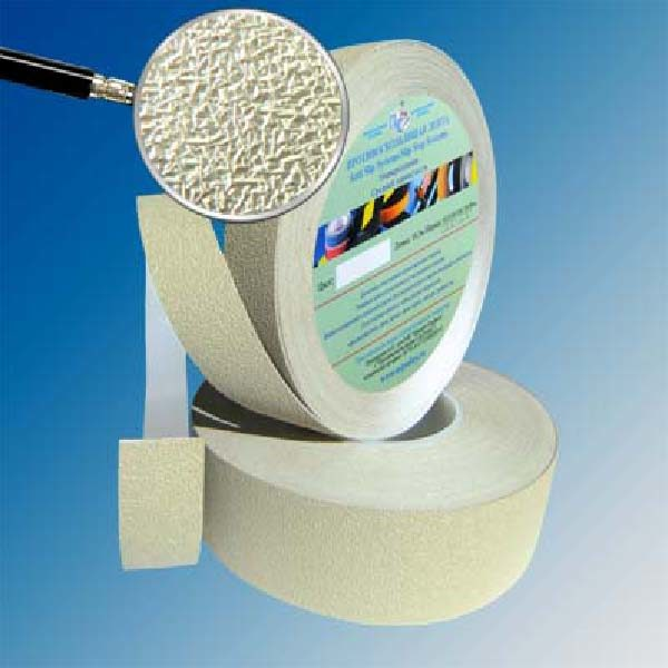 Противоскользящая водоотталкивающая виниловая лента Antislip Systems 50 мм, 18,3 м бежевый