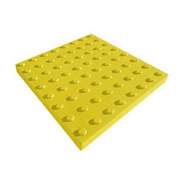 Бетонная тактильная плитка Линейный конус 500x180x50 мм