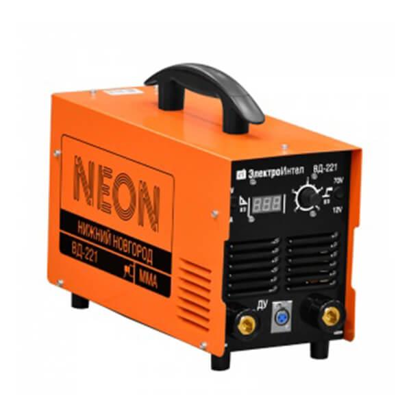 Инвертор MMA Neon ВД-221 (220 В) б/комплект, аттестат НАКС