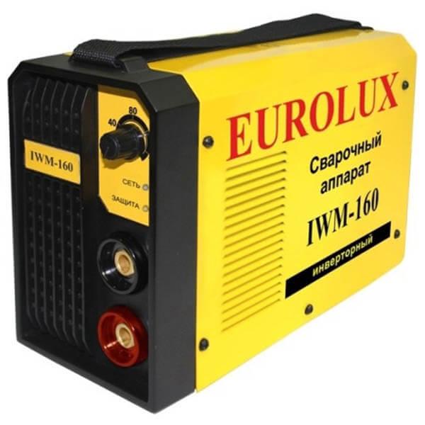 Инвертор MMA Eurolux IWM-160 (220 В) комплект