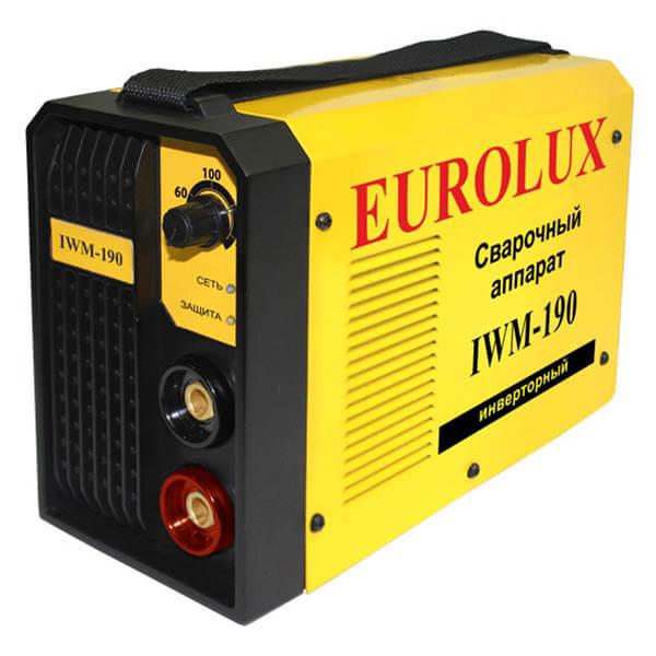Инвертор MMA Eurolux IWM-190 (220 В) комплект