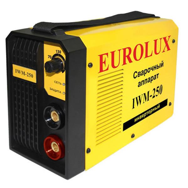 Инвертор MMA Eurolux IWM-250 (220 В) комплект