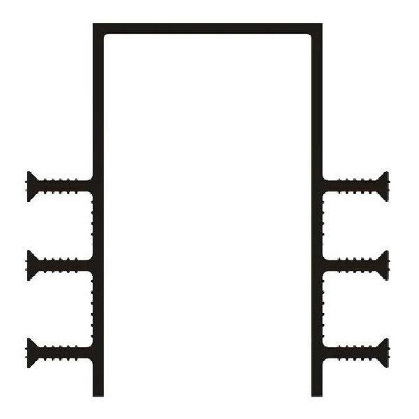 Гидрошпонка ПВХ ДЗ-160/100-6/35
