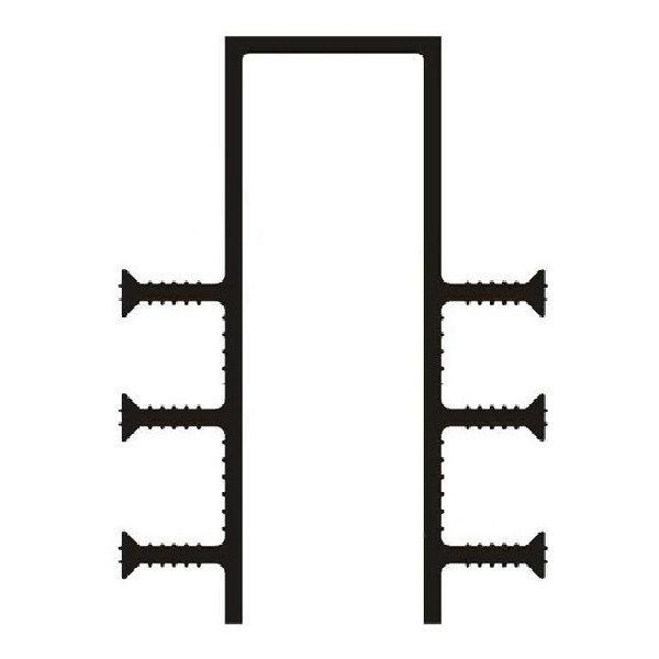 Гидрошпонка ПВХ ДЗ-160/50-6/35