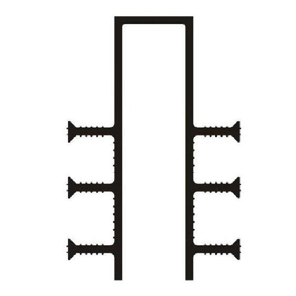Гидрошпонка ПВХ ДЗ-160/40-6/35
