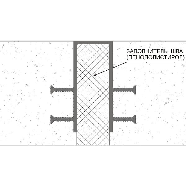 Гидрошпонка ПВХ ДЗ-160/30-6/35