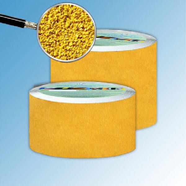 Противоскользящая абразивная желтая лента AntiSlip Systems 60 grit 100 мм, 18.3 м