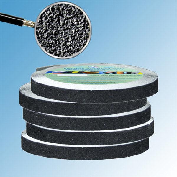 Противоскользящая абразивная черная лента Antislip Systems 60 grit, 6 м 19 мм