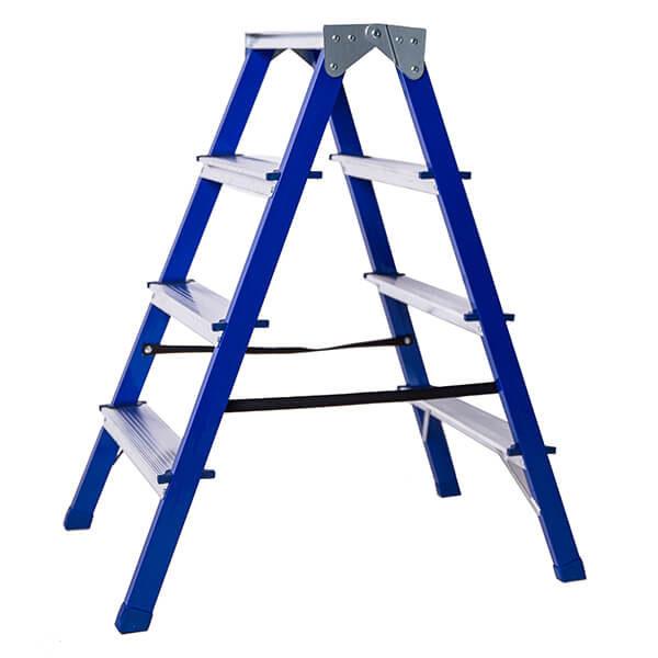 Стремянка стальная двухсторонняя 4 ступени