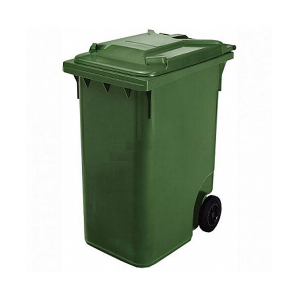 Контейнер для мусора 360 л с крышкой, 200 мм