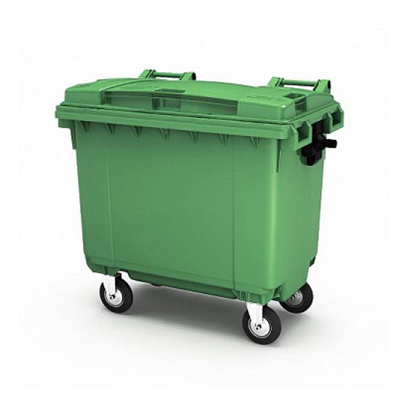 Контейнер для мусора 660 л с крышкой