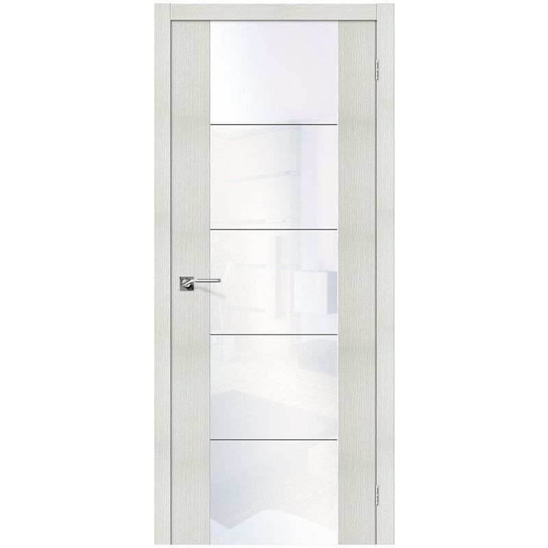 Межкомнатная дверь V4 WW, Bianco Veralinga, White Waltz