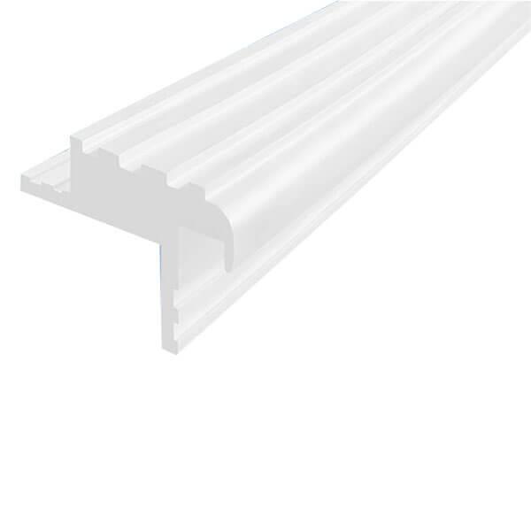 Закладной противоскользящий профиль «Безопасный Шаг Премиум» (БШ-40) белый