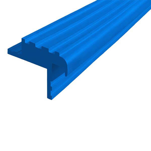 Закладной противоскользящий профиль «Безопасный Шаг Премиум» (БШ-40) синий