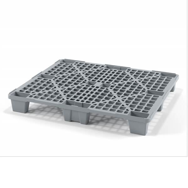 Поддон полимерный перфорированный 1200х1000х135 мм на ножках