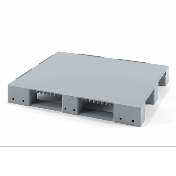 Паллет сплошной 1200х1000х150 мм для стеллажного хранения (без усиления)